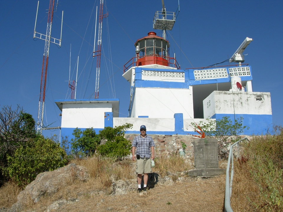 Hiking up El Faro Lighthouse in Mazatlán, Sinaloa, Mexico