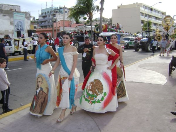Mexico Independence Day in Mazatlán, Sinaloa, Mexico