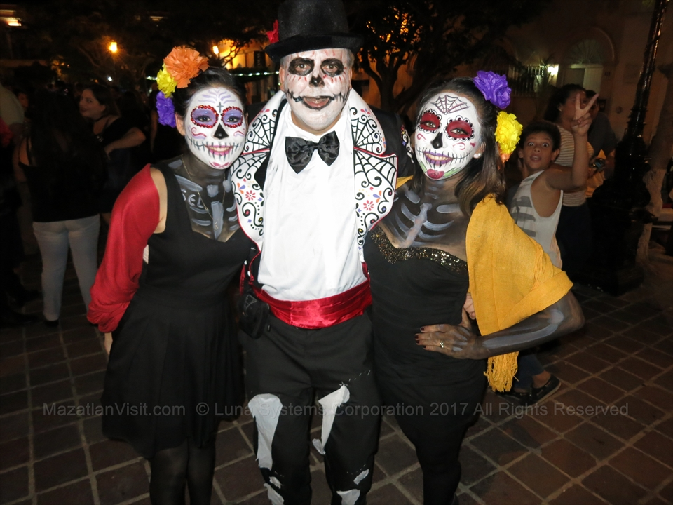 Day of the Dead Parade in Mazatlán, Sinaloa, Mexico