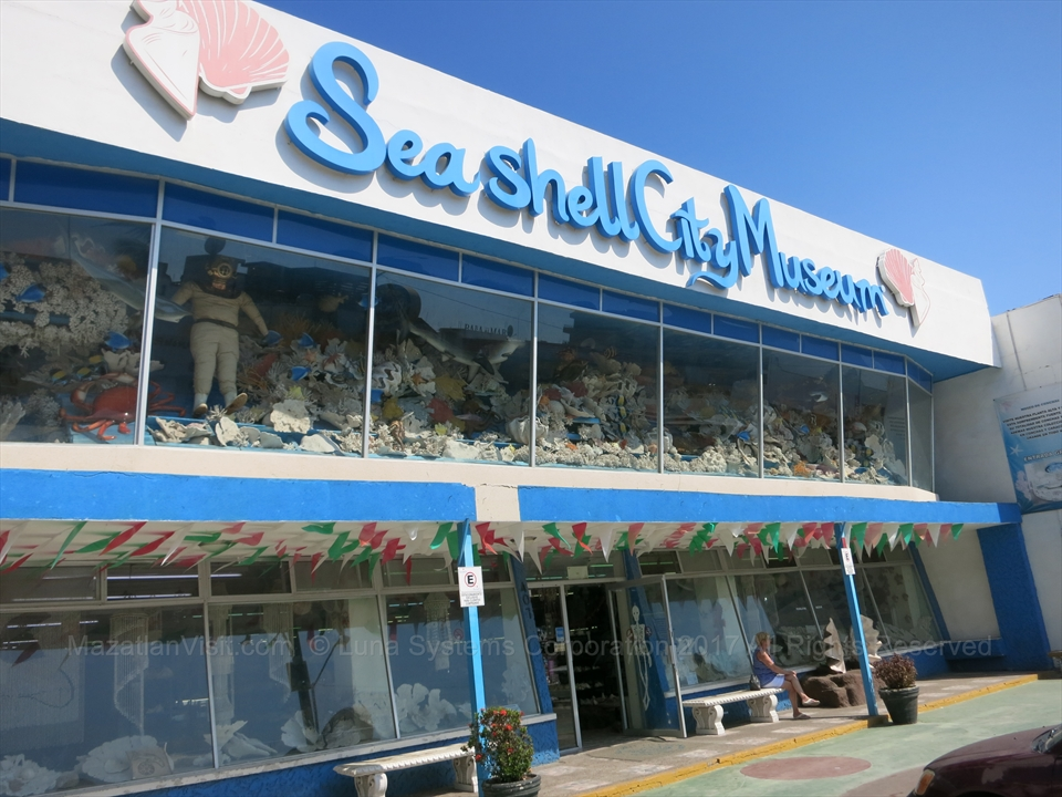 Seashell City Museum in Mazatlán, Sinaloa, Mexico