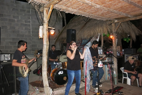 Kraken Band at Diego's Beach House in Mazatlán, Sinaloa, Mexico