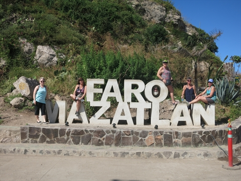 new El Faro Lighthouse sign in Mazatlán, Sinaloa, Mexico