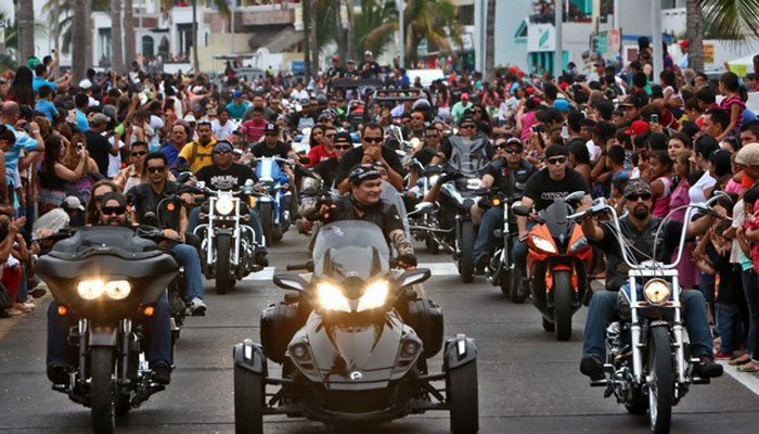 Mazatlán International Motorcycle Week in Mazatlán, Sinaloa, Mexico