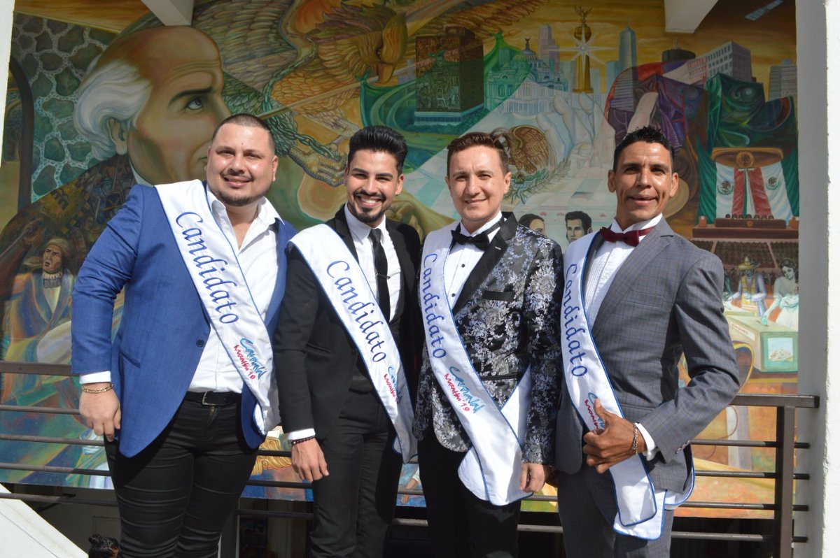King of Joy contestants in Mazatlán, Sinaloa, Mexico